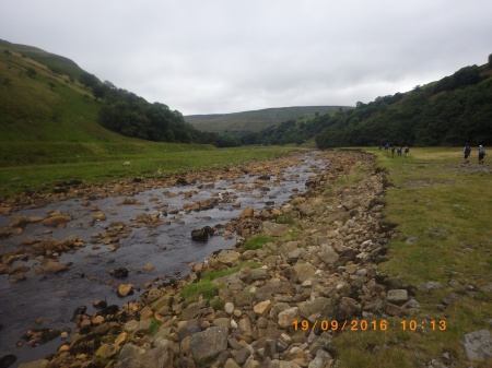 Swaledale as we walked towards Rampsholme Bridge